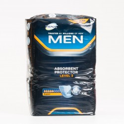 Tena Men Protector Absorbente Nivel 3 Super, 16 Uds.
