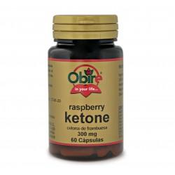 Obire cetona de frambuesa 300 mg, 60 Caps.
