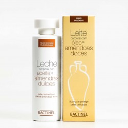 Bactinel Leche Corporal Aceite Almendras, 300ml.