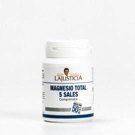 Ana María LaJusticia Magnesio Total 5 Sales, 100 comprimidos.