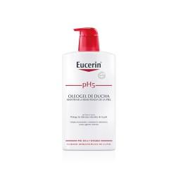 Eucerin Piel Sensible pH5 Oleogel de Ducha, 1litro.