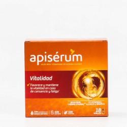 Apiserum Vitalidad, 18 Viales.