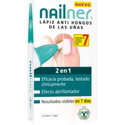 Nailner Lápiz 2 EN 1, 4ml.