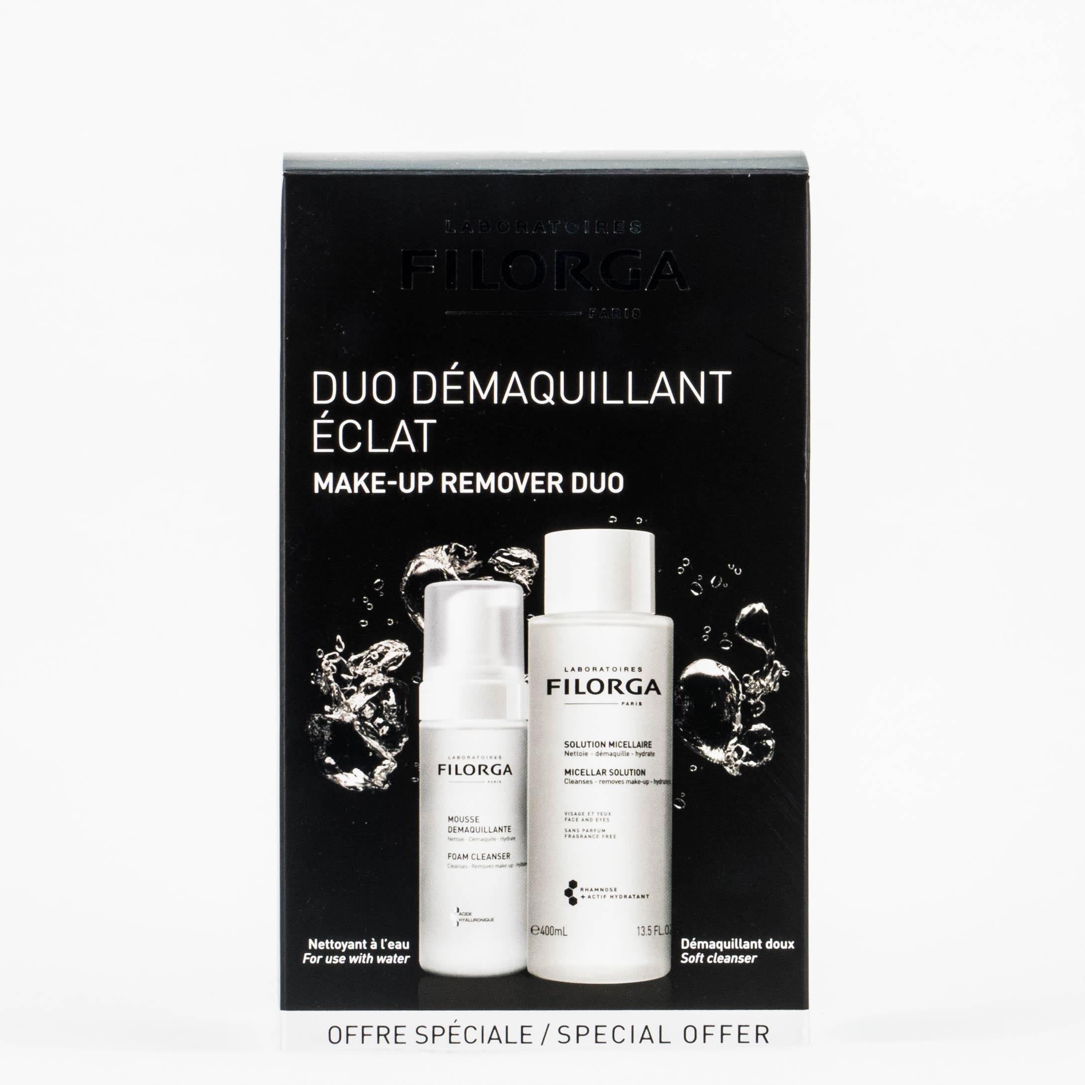 Filorga Pack Duo Desmaquillante Mousse + Solución Micelar