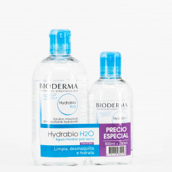 Bioderma Hydrabio H2O Pack, 500 + 250ml.