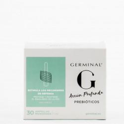 Germinal Acción Profunda Prebióticos, 30 Ampollas.