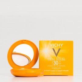 Vichy Ideal Soleil Compacto Beige Dorado, 9g