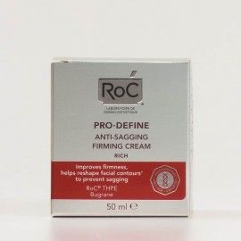 Roc Pro-Define Crema Antiflacidez Reafirmante Textura rica, 50ml