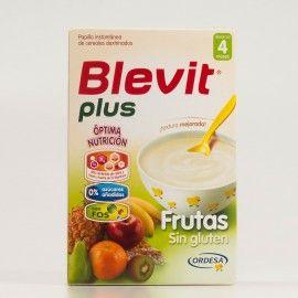 Blevit Plus Frutas, 300g.