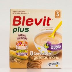 Blevit Plus 8 Cereales y Galleta DUPLO 600 g.