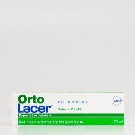 Orto Lacer Gel Dentífrico Sabor Menta, 75ml