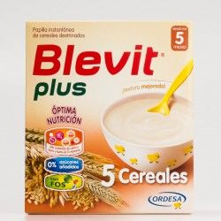 Blevit plus Superfibra 5 Cereales, 600g.