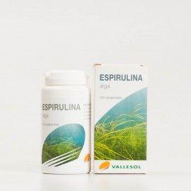 Vallesol Espirulina, 100comp.