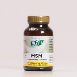 MSM de CFN, 60Caps.