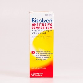 Bisolvon Antitusivo Compositum, 200ml.