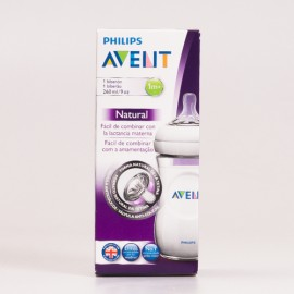 Avent Philips Biberón Natural 260 ml.