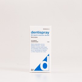 Dentispray 5% Solución, 5ml.