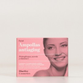 Bactinel Ampollas Antiaging Facial, 5 unid.