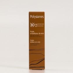 Polysianes Fluido Belleza con Color SPF30, 40ml.