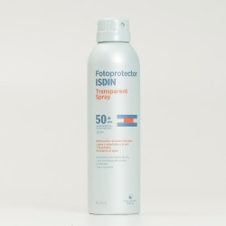 Fotoprotector Isdin transparent spray SPF50+, 250ml.