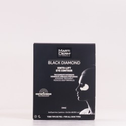 Martiderm Black Diamond Ionto-Lift Contorno de Ojos, 4x2 parches + 4ml Gel.