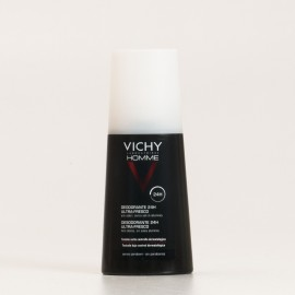 Vichy Homme Desodorante Spray Ultra-Fresco, 100ml.