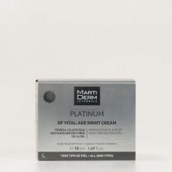 Martiderm Platinum GF Vital-Age Crema Noche, 50ml.