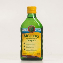 Moller´s Aceite de Bacalao Sabor Limon 250 ml