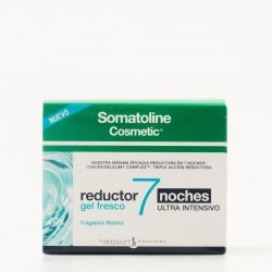 Somatoline Cosmetic reductor 7 noches gel fresco ultra intensivo, 400ml.