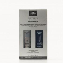 Martiderm Platinum Eye Correct, 10ml + 10ml.