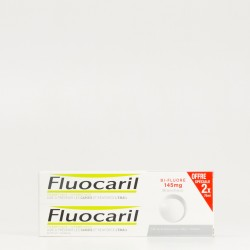 Fluocaril Pasta Dental Blanqueadora Duplo, 2X75ml.
