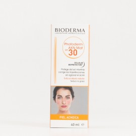 Bioderma Photoderm AKN MAT SPF30, 40ml.