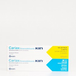 Cariax Desensibilizante Pasta Dental DUPLO, 2x125ml.