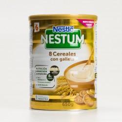 Nestlé Nestum Papilla 8 Cereales con Galletas, 650g