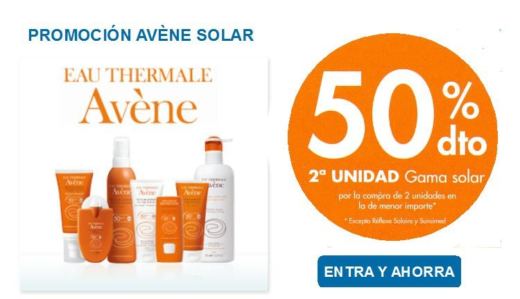 Promocion Avene Solar