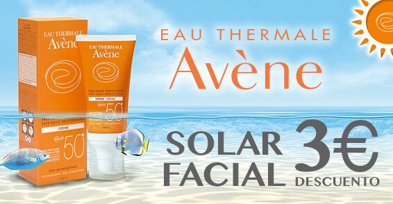 Avene solar facial